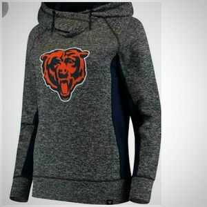 Fanatics Sz S Chicago Bears 🐻 Heathered Pull-Over